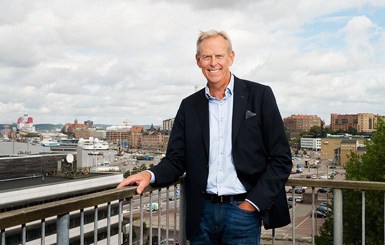 Lennart Hedström, VD, Elof Hansson
