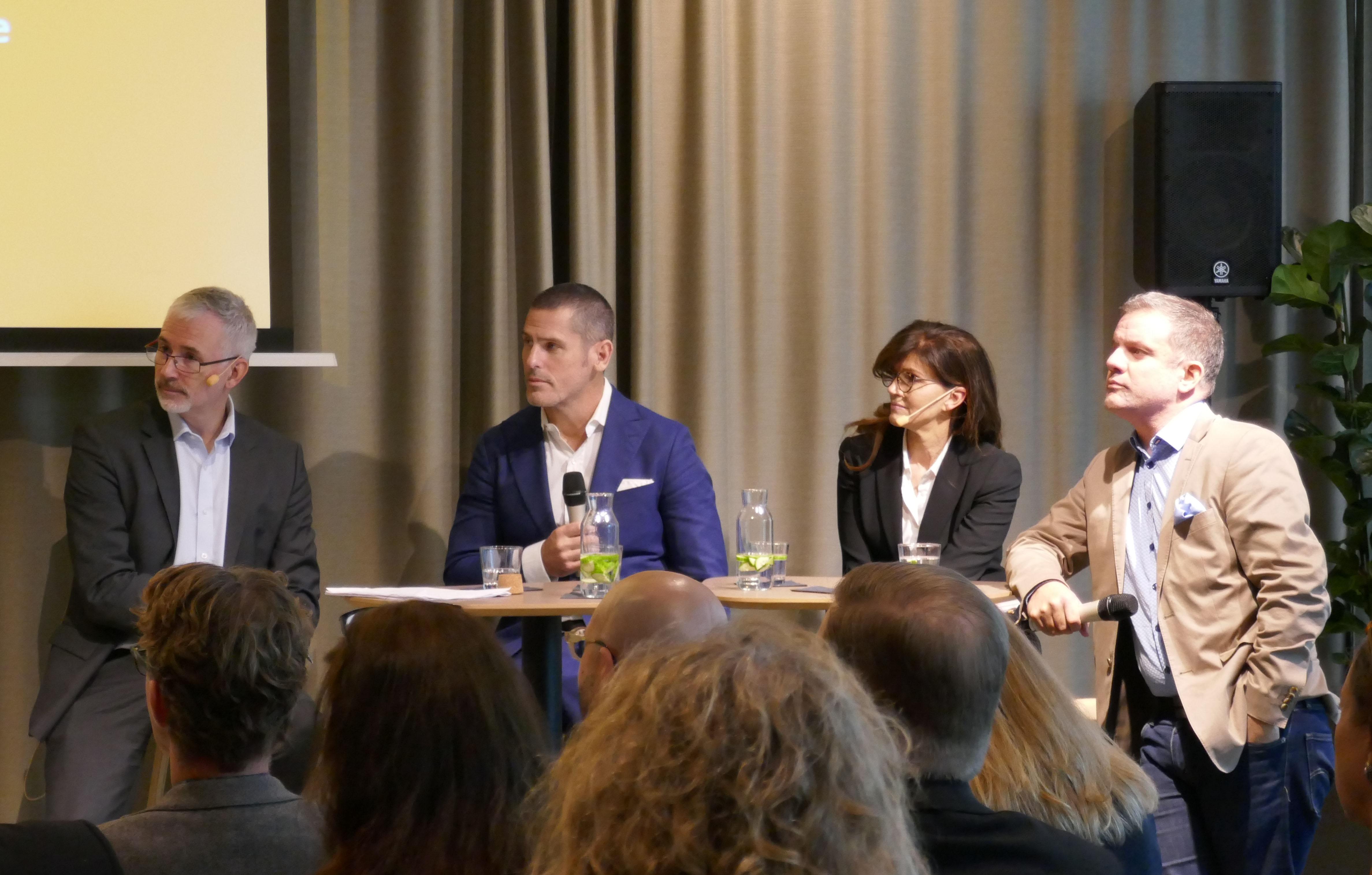 Forum för Global Business Gate, som ska ta plats på Masthuggskajen i Göteborg, diskuterar framtida handelsförbindelser med USA.